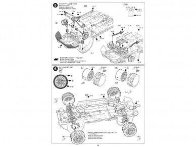 Tamiya - Subaru Impreza WRC '99, Mastelis: 1/24, 24218 11