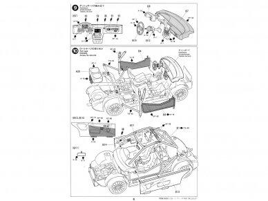 Tamiya - Subaru Impreza WRC '99, Mastelis: 1/24, 24218 13