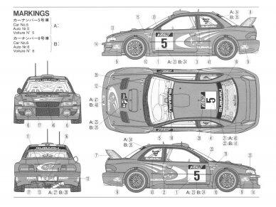 Tamiya - Subaru Impreza WRC '99, Mastelis: 1/24, 24218 7