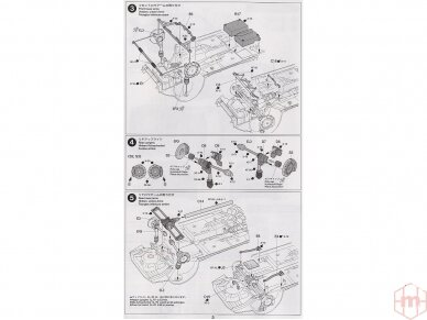 Tamiya - Subaru Impreza WRC Monte Carlo 05, Mastelis: 1/24, 24281 11