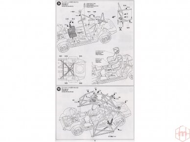 Tamiya - Subaru Impreza WRC Monte Carlo 05, Mastelis: 1/24, 24281 13