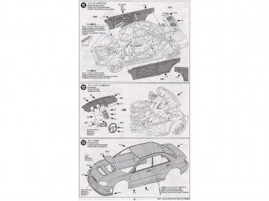 Tamiya - Subaru Impreza WRC Monte Carlo 05, Mastelis: 1/24, 24281 14