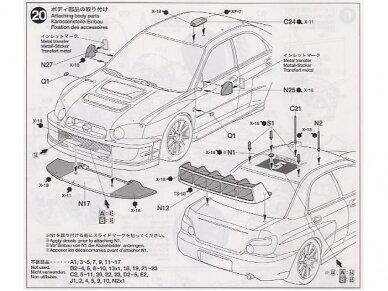 Tamiya - Subaru Impreza WRC Monte Carlo 05, 1/24, 24281 17