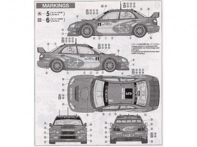 Tamiya - Subaru Impreza WRC Monte Carlo 05, Mastelis: 1/24, 24281 9