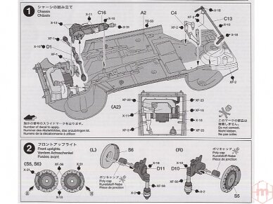 Tamiya - Subaru Impreza WRC Monte Carlo 05, Mastelis: 1/24, 24281 10