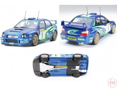 Tamiya - Subaru Impreza WRC Monte Carlo 2001, Mastelis: 1/24, 24240 2