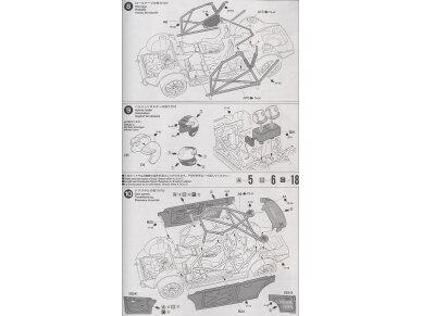 Tamiya - Subaru Impreza WRC Monte Carlo 2001, Mastelis: 1/24, 24240 12