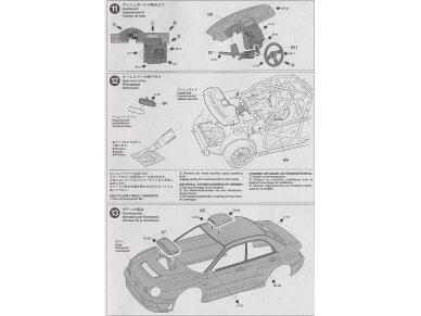 Tamiya - Subaru Impreza WRC Monte Carlo 2001, Mastelis: 1/24, 24240 13