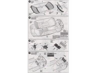 Tamiya - Subaru Impreza WRC Monte Carlo 2001, Mastelis: 1/24, 24240 14
