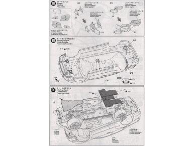 Tamiya - Subaru Impreza WRC Monte Carlo 2001, Mastelis: 1/24, 24240 15