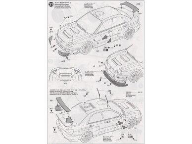 Tamiya - Subaru Impreza WRC Monte Carlo 2001, Mastelis: 1/24, 24240 16