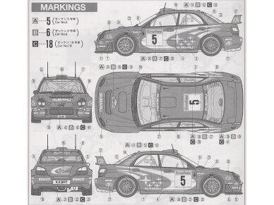 Tamiya - Subaru Impreza WRC Monte Carlo 2001, Mastelis: 1/24, 24240 8