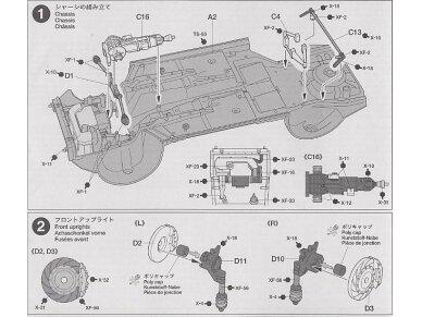 Tamiya - Subaru Impreza WRC Monte Carlo 2001, Scale: 1/24, 24240 9