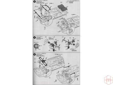 Tamiya - Subaru Impreza WRC Monte Carlo 2001, Mastelis: 1/24, 24240 10