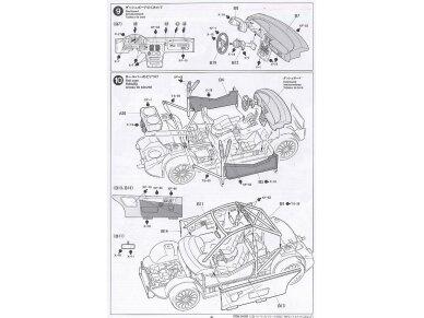 Tamiya - Subaru Impreza WRC Monte Carlo 98, Mastelis: 1/24, 24199 12