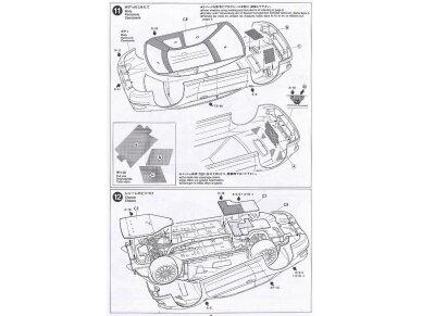 Tamiya - Subaru Impreza WRC Monte Carlo 98, Scale: 1/24, 24199 13