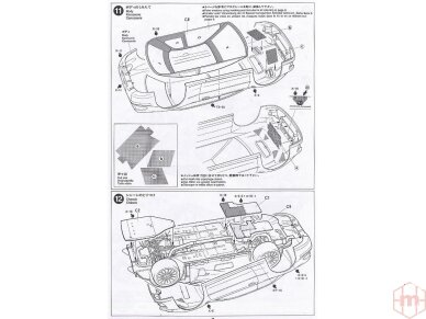 Tamiya - Subaru Impreza WRC Monte Carlo 98, Mastelis: 1/24, 24199 13