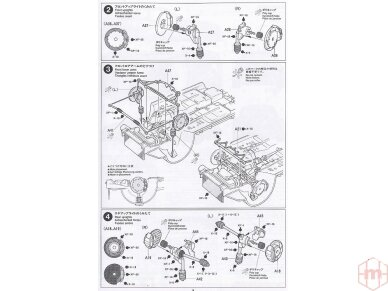 Tamiya - Subaru Impreza WRC Monte Carlo 98, Mastelis: 1/24, 24199 9