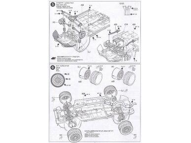 Tamiya - Subaru Impreza WRC Monte Carlo 98, Mastelis: 1/24, 24199 10