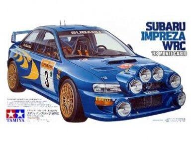 Tamiya - Subaru Impreza WRC Monte Carlo 98, Scale: 1/24, 24199