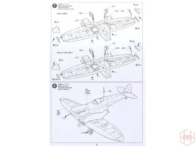 Tamiya - Super Marine Spitfire Mk.Vb/Mk.Vb TROP, Scale: 1/72, 60756 12