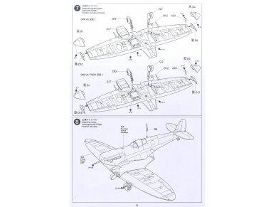 Tamiya - Super Marine Spitfire Mk.Vb/Mk.Vb TROP, Mastelis: 1/72, 60756 12