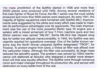 Tamiya - Super Marine Spitfire Mk.Vb/Mk.Vb TROP, Mastelis: 1/72, 60756 3