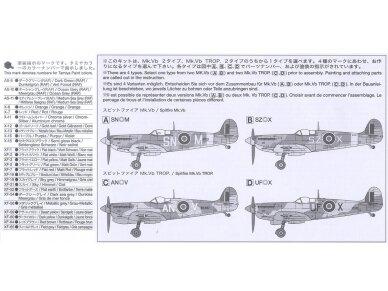 Tamiya - Super Marine Spitfire Mk.Vb/Mk.Vb TROP, Mastelis: 1/72, 60756 5