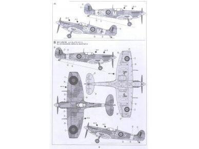 Tamiya - Super Marine Spitfire Mk.Vb/Mk.Vb TROP, Mastelis: 1/72, 60756 7