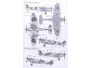 Tamiya - Super Marine Spitfire Mk.Vb/Mk.Vb TROP, Scale: 1/72, 60756 8