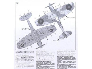 Tamiya - Super Marine Spitfire Mk.Vb/Mk.Vb TROP, Mastelis: 1/72, 60756 9