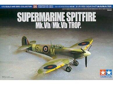 Tamiya - Super Marine Spitfire Mk.Vb/Mk.Vb TROP, Scale: 1/72, 60756