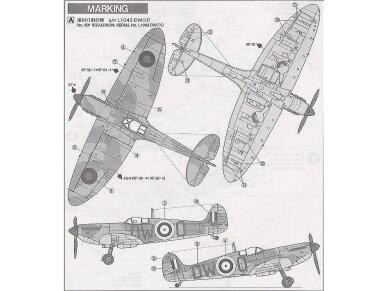 Tamiya - Supermarine Spitfire Mk.I, Mastelis: 1/72, 60748 5