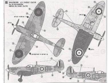 Tamiya - Supermarine Spitfire Mk.I, Mastelis: 1/72, 60748 6