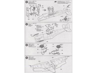 Tamiya - Supermarine Spitfire Mk.I, Mastelis: 1/72, 60748 8
