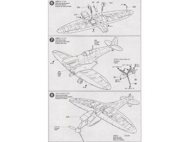 Tamiya - Supermarine Spitfire Mk.I, Mastelis: 1/72, 60748 9