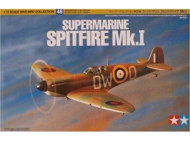 Tamiya - Supermarine Spitfire Mk.I, Mastelis: 1/72, 60748