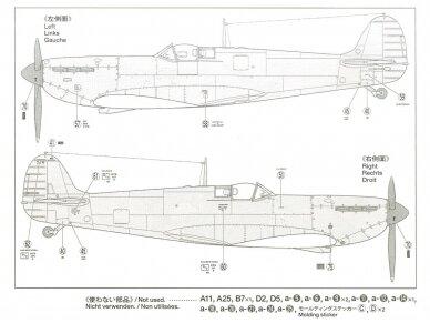 Tamiya - Supermarine SpitfireMk.I, Mastelis: 1/48, 61119 9