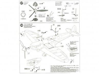 Tamiya - Supermarine SpitfireMk.I, Mastelis: 1/48, 61119 18