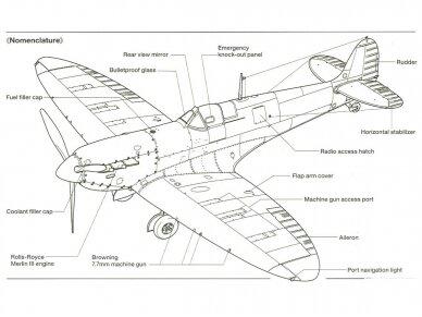 Tamiya - Supermarine SpitfireMk.I, Mastelis: 1/48, 61119 19