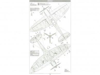 Tamiya - Supermarine SpitfireMk.I, Mastelis: 1/48, 61119 20