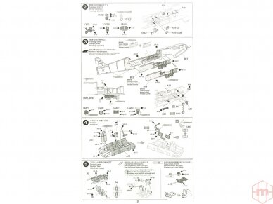 Tamiya - Supermarine SpitfireMk.I, Mastelis: 1/48, 61119 11