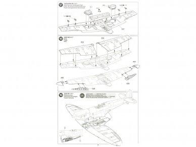 Tamiya - Supermarine SpitfireMk.I, Mastelis: 1/48, 61119 15