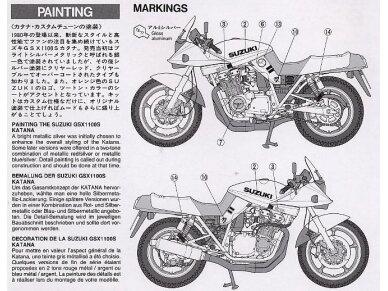 Tamiya - Suzuki GSX1100S Katana Custom Tuned, Mastelis: 1/12, 14065 7