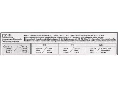 Tamiya - Suzuki GSX1300R Hayabusa, Mastelis: 1/12, 14090 13