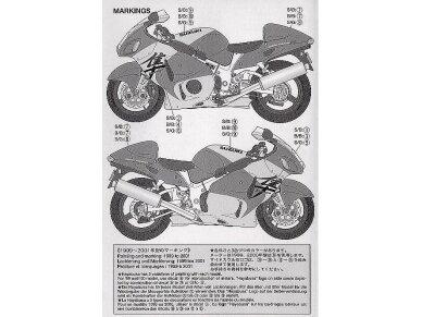 Tamiya - Suzuki GSX1300R Hayabusa, Mastelis: 1/12, 14090 14
