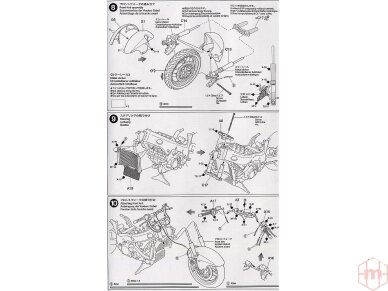 Tamiya - Suzuki GSX1300R Hayabusa, Mastelis: 1/12, 14090 19