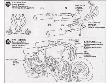 Tamiya - Suzuki GSX1300R Hayabusa, Mastelis: 1/12, 14090 21