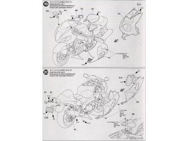 Tamiya - Suzuki GSX1300R Hayabusa, Mastelis: 1/12, 14090 23