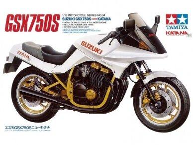 Tamiya - Suzuki GSX750S new KATANA, Mastelis: 1/12, 14034
